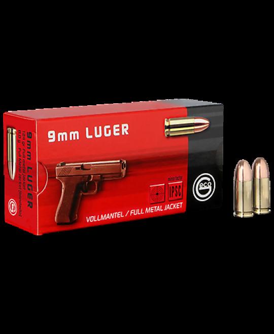Geco Luger 9mm 124 Gr FMJ BULK