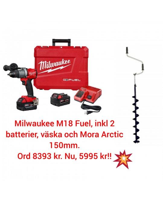 Isborrpaket Milwaukee + Mora 150 mm