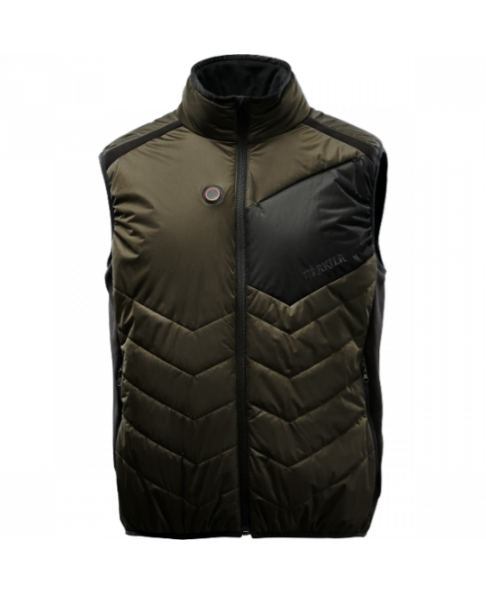 Härkila Värmeväst Heat Waistcoat Green/Black