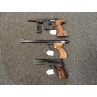 Div pistoler begagnade, Walter, Drulov, Beretta