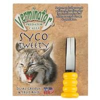 Verminator Predator Call Syco Tweety Lockpipa rovvilt