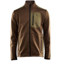 WoolShell Jacket Man Large Capers/Dark Earth