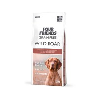 Four Friends Wild Boar 17 kg Hundfoder/Torrfoder/Hundmat