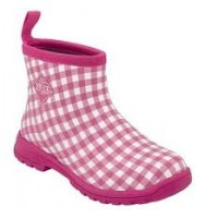 MUCK BOOT Breezy Cool Ankle (Pink gingham) Stövel