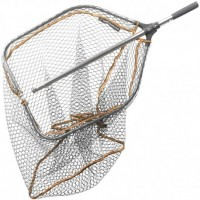 SAVAGE GEAR PRO FOLDING TELE RUBBER MESH LANDING NET XL