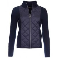Barbour Sporting Zip-Knit Navy Blue
