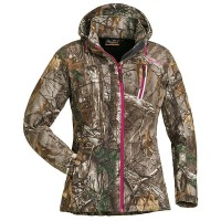 Camo Stretch Shell Jacket Pinewood Xtra/ Hot Pink